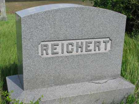 REICHERT, FAMILY STONE - Wayne County, Nebraska   FAMILY STONE REICHERT - Nebraska Gravestone Photos