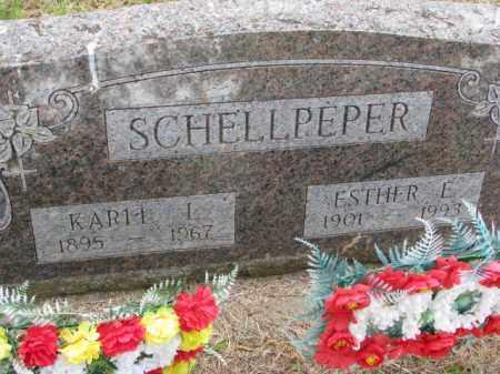 SCHELLPEPER, ESTHER E. - Wayne County, Nebraska | ESTHER E. SCHELLPEPER - Nebraska Gravestone Photos