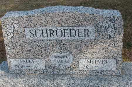 SCHROEDER, MELVIN - Wayne County, Nebraska   MELVIN SCHROEDER - Nebraska Gravestone Photos
