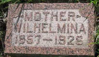 SCHROEDER, WILHELMINA - Wayne County, Nebraska | WILHELMINA SCHROEDER - Nebraska Gravestone Photos