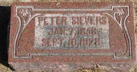 SIEVERS, PETER - Wayne County, Nebraska | PETER SIEVERS - Nebraska Gravestone Photos