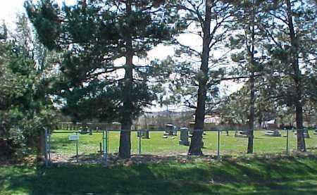 *ST. PAUL'S LUTHERAN CEMETERY, OVERVIEW - Wayne County, Nebraska | OVERVIEW *ST. PAUL'S LUTHERAN CEMETERY - Nebraska Gravestone Photos