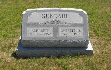 SUNDAHL, EVERETT G. - Wayne County, Nebraska   EVERETT G. SUNDAHL - Nebraska Gravestone Photos