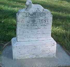 TEST, W.U.B. SOHNLEIN - Wayne County, Nebraska   W.U.B. SOHNLEIN TEST - Nebraska Gravestone Photos