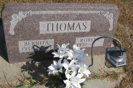 THOMAS, BERNITA - Wayne County, Nebraska | BERNITA THOMAS - Nebraska Gravestone Photos