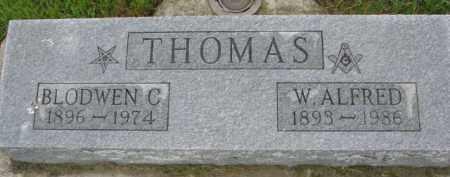 THOMAS, BLODWEN C. - Wayne County, Nebraska | BLODWEN C. THOMAS - Nebraska Gravestone Photos