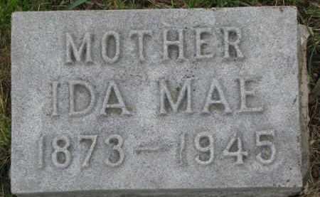 THOMAS, IDA MAE - Wayne County, Nebraska | IDA MAE THOMAS - Nebraska Gravestone Photos