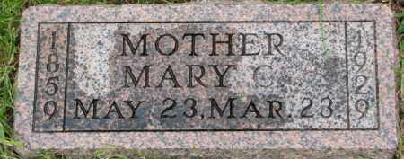 THOMAS, MARY C. - Wayne County, Nebraska | MARY C. THOMAS - Nebraska Gravestone Photos