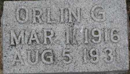THOMAS, ORLIN G. - Wayne County, Nebraska | ORLIN G. THOMAS - Nebraska Gravestone Photos
