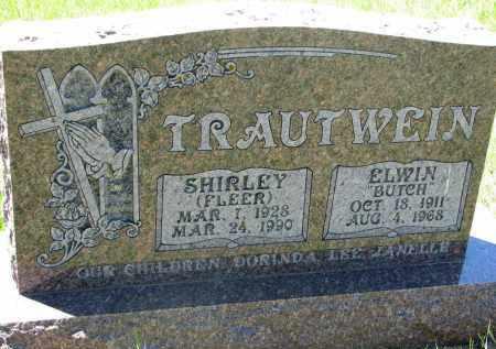 TRAUTWEIN, SHIRLEY - Wayne County, Nebraska | SHIRLEY TRAUTWEIN - Nebraska Gravestone Photos
