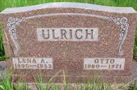 ULRICH, OTTO - Wayne County, Nebraska | OTTO ULRICH - Nebraska Gravestone Photos