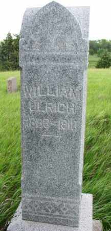 ULRICH, WILLIAM - Wayne County, Nebraska | WILLIAM ULRICH - Nebraska Gravestone Photos