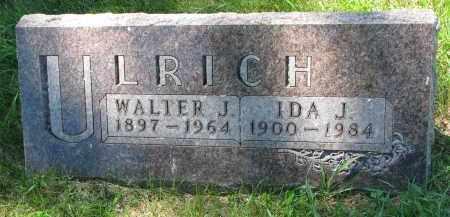 ULRICH, IDA J. - Wayne County, Nebraska | IDA J. ULRICH - Nebraska Gravestone Photos