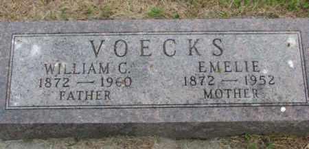 VOECKS, EMELIE - Wayne County, Nebraska   EMELIE VOECKS - Nebraska Gravestone Photos