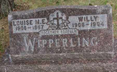 WIPPERLING, LOUISE M.E. - Wayne County, Nebraska | LOUISE M.E. WIPPERLING - Nebraska Gravestone Photos