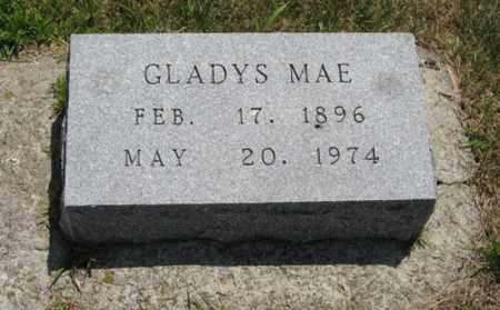 WOODS, GLADYS MAE - Wayne County, Nebraska | GLADYS MAE WOODS - Nebraska Gravestone Photos