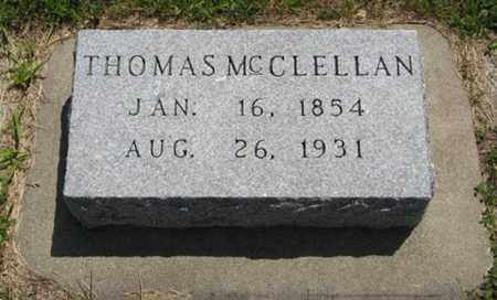 WOODS, THOMAS MCCLELLAN - Wayne County, Nebraska | THOMAS MCCLELLAN WOODS - Nebraska Gravestone Photos