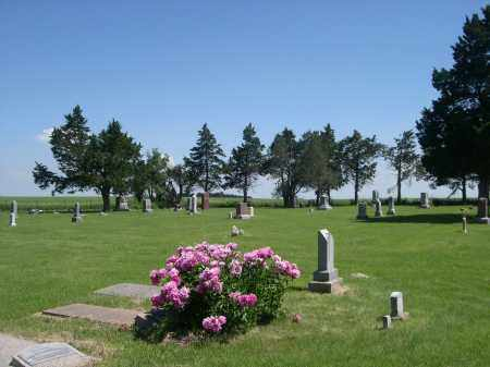 *CLOVERTON CEMETERY, VIEW OF - Webster County, Nebraska | VIEW OF *CLOVERTON CEMETERY - Nebraska Gravestone Photos