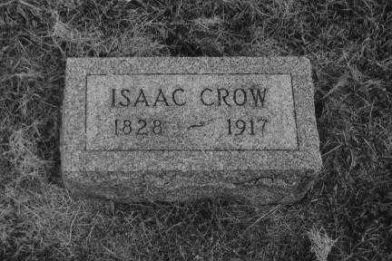 CROW, ISAAC - Webster County, Nebraska | ISAAC CROW - Nebraska Gravestone Photos