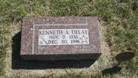 DELAY, KENNETH A. - Wheeler County, Nebraska | KENNETH A. DELAY - Nebraska Gravestone Photos
