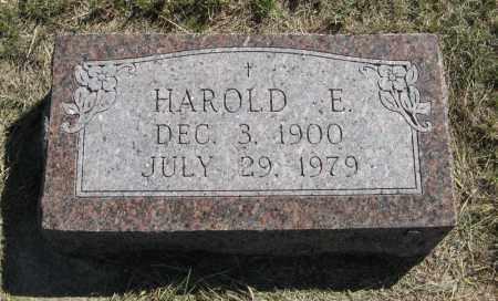 KENNEDY, HAROLD E. - Wheeler County, Nebraska | HAROLD E. KENNEDY - Nebraska Gravestone Photos