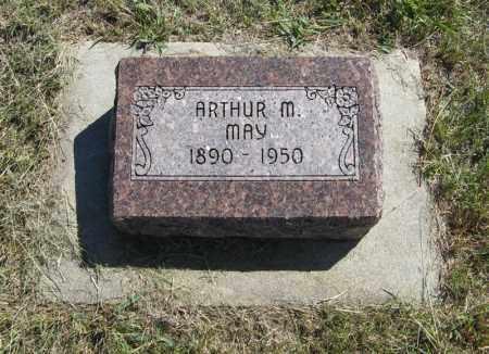 MAY, ARTHUR M. - Wheeler County, Nebraska | ARTHUR M. MAY - Nebraska Gravestone Photos