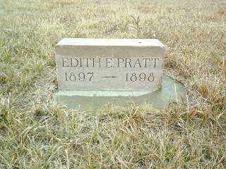 PRATT, EDITH - Wheeler County, Nebraska | EDITH PRATT - Nebraska Gravestone Photos