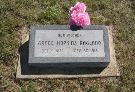 HOPKINS RAGLAND, GRACE - Wheeler County, Nebraska   GRACE HOPKINS RAGLAND - Nebraska Gravestone Photos