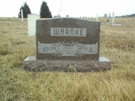 WARNKE, WILLIAM - Wheeler County, Nebraska   WILLIAM WARNKE - Nebraska Gravestone Photos