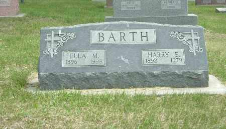 BARTH, HARRY - York County, Nebraska | HARRY BARTH - Nebraska Gravestone Photos