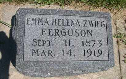 FERGUSON, EMMA HELENA - York County, Nebraska | EMMA HELENA FERGUSON - Nebraska Gravestone Photos