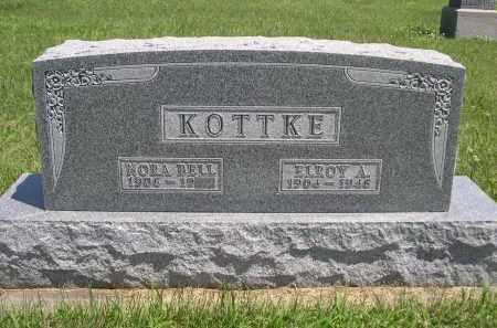 KOTTKE, ELROY A. - York County, Nebraska   ELROY A. KOTTKE - Nebraska Gravestone Photos