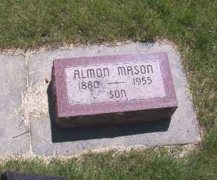 MASON, EDWARD ALMON - York County, Nebraska   EDWARD ALMON MASON - Nebraska Gravestone Photos