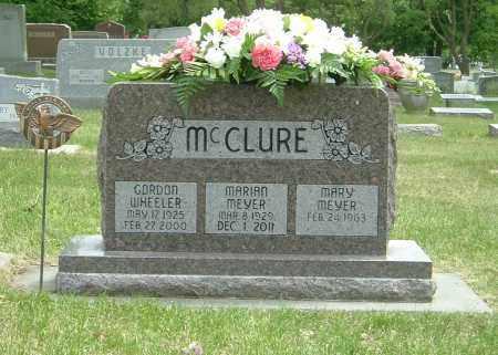 MEYER MCCLURE, MARIAN - York County, Nebraska   MARIAN MEYER MCCLURE - Nebraska Gravestone Photos