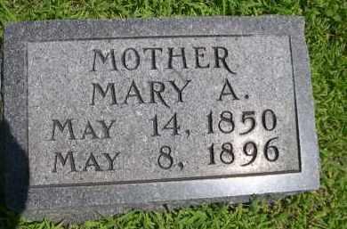 ZWIEG, MARY A. - York County, Nebraska | MARY A. ZWIEG - Nebraska Gravestone Photos