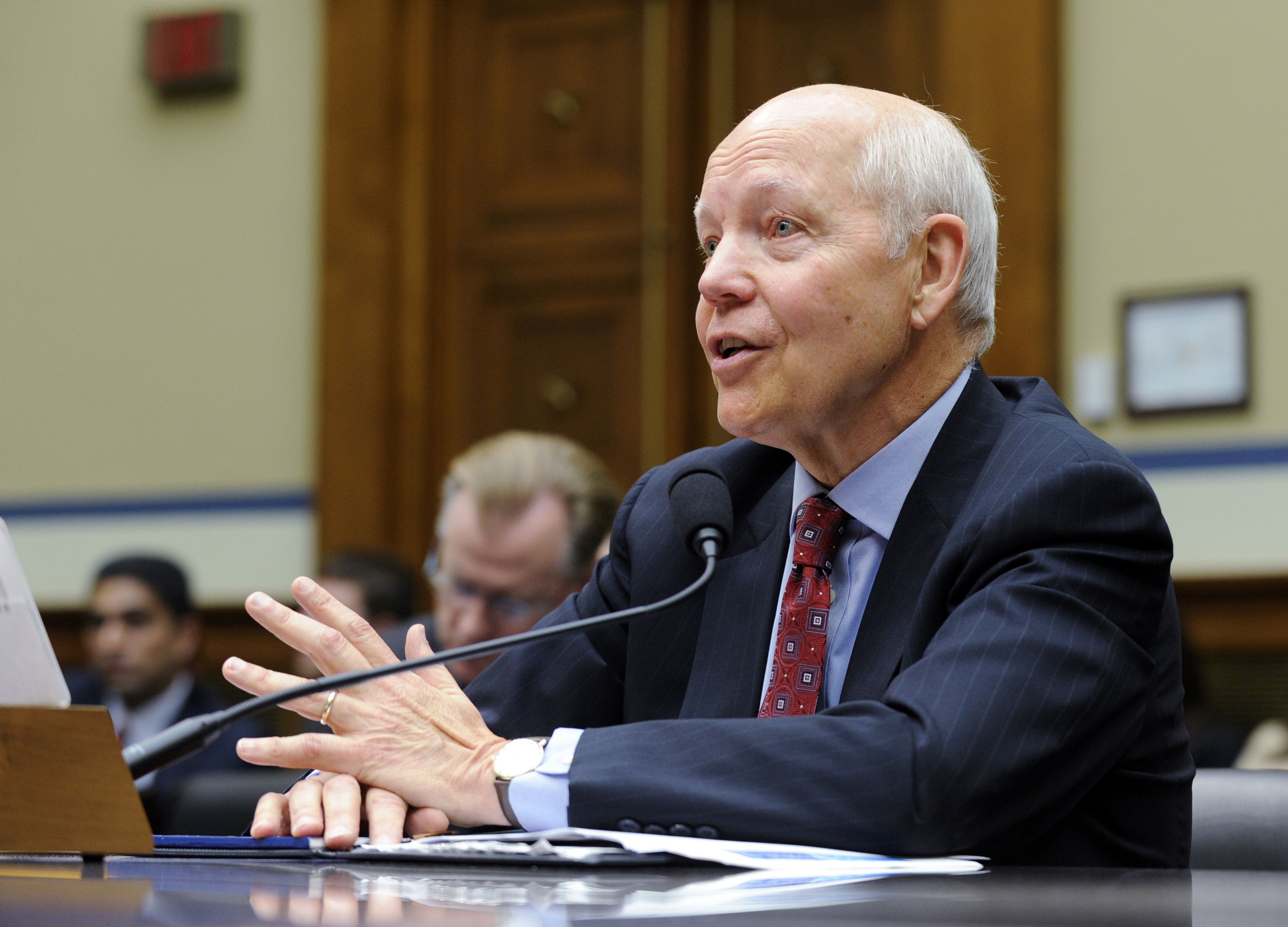 IRS Commissioner John Koskinen. (Credit: AP Photo)