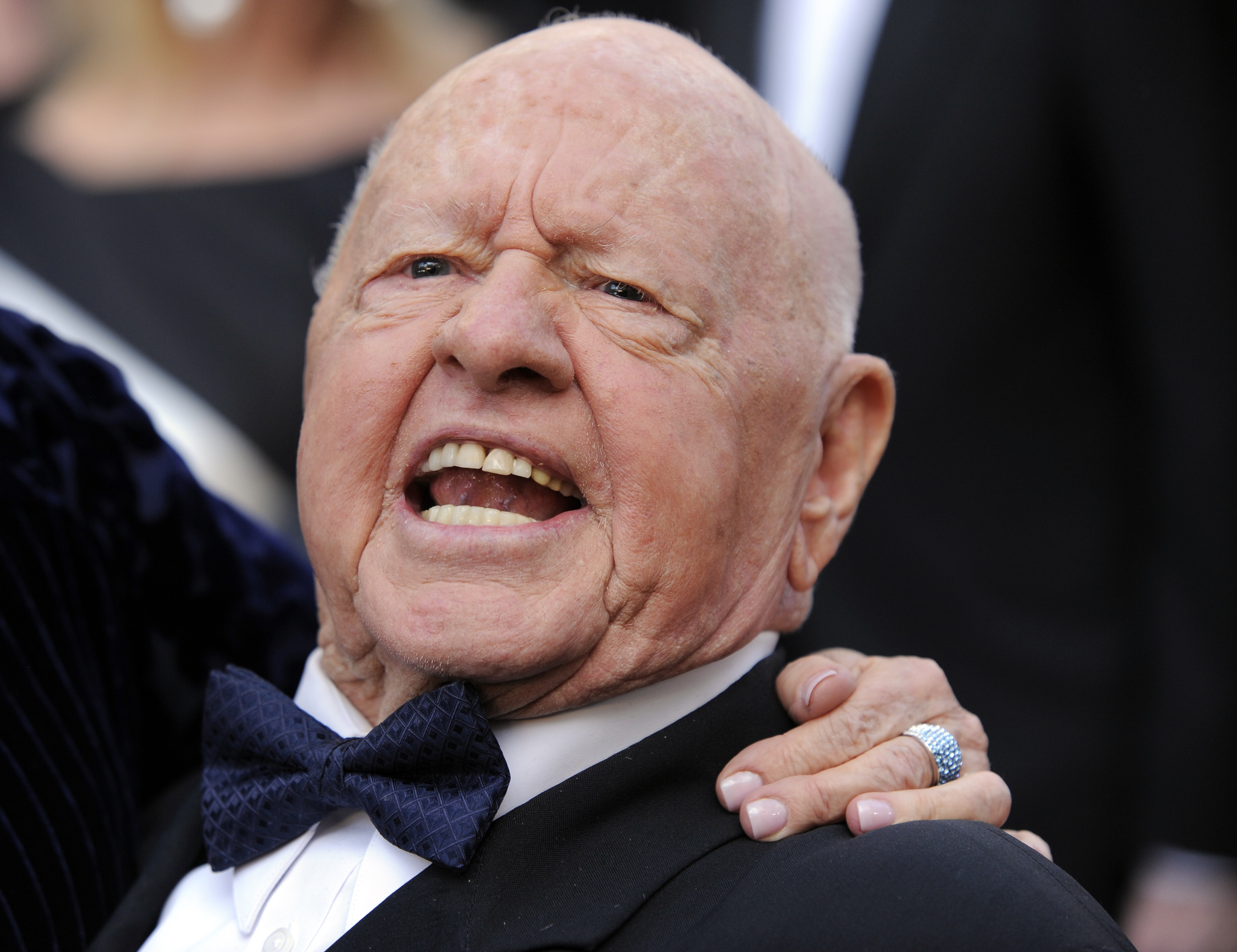 Mickey Rooney at the 82nd Academy Awards. (AP Photo/Chris Pizzello, file)