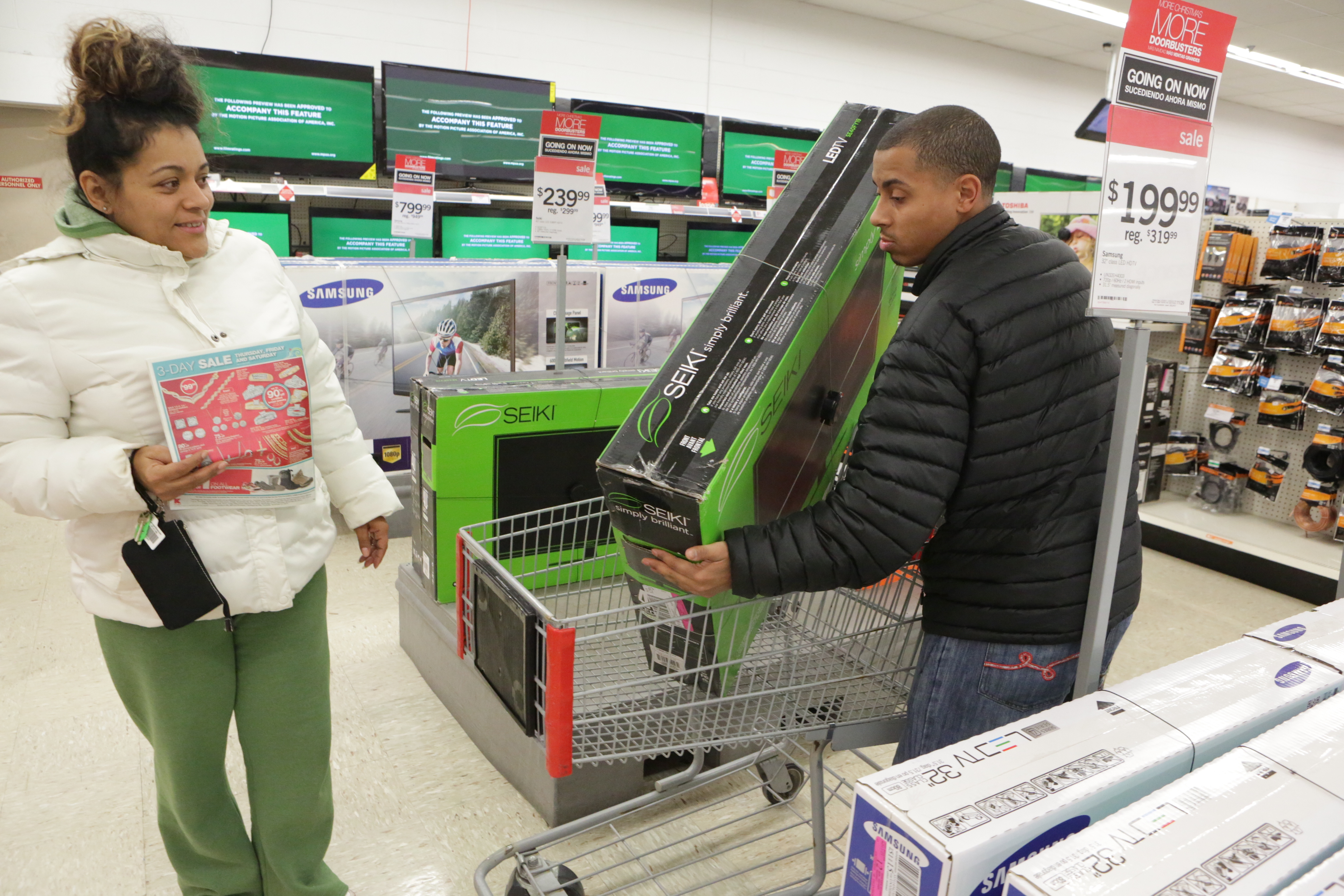Shopping On Thanksgiving? Some Retailers Stay Open, Hoping To Capture Holiday Sales