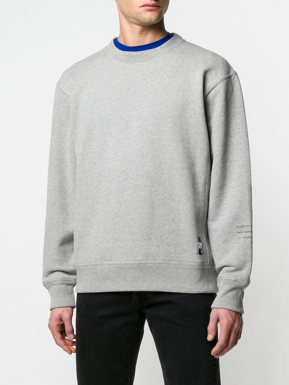 grey Moncler Genius x Fragment Design sweatshirt MONCLER GENIUS |  | 80402-50910
