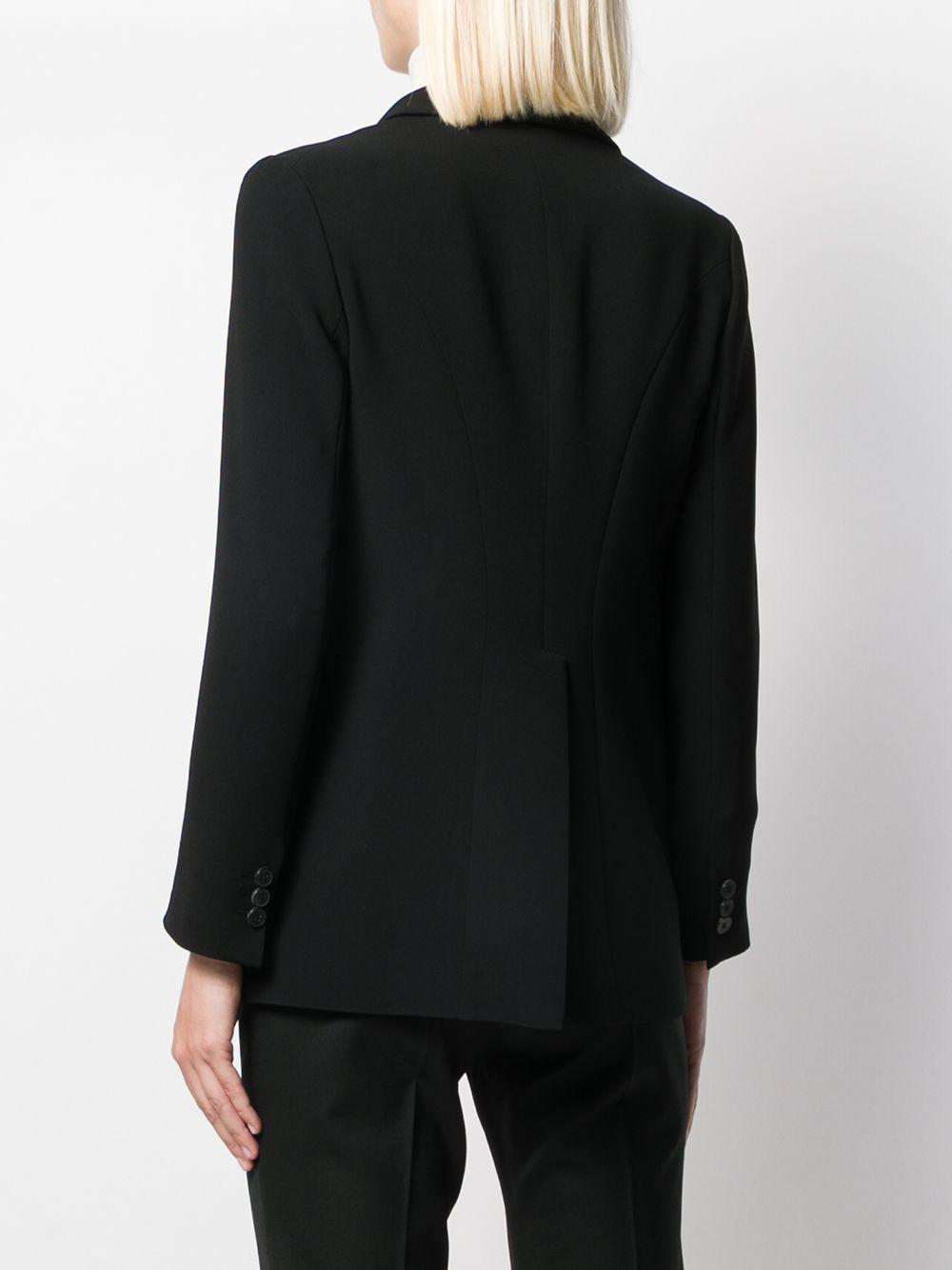 Black single-breasted blazer featuring peaked lapels ALBERTO BIANI |  | II855-AC003090