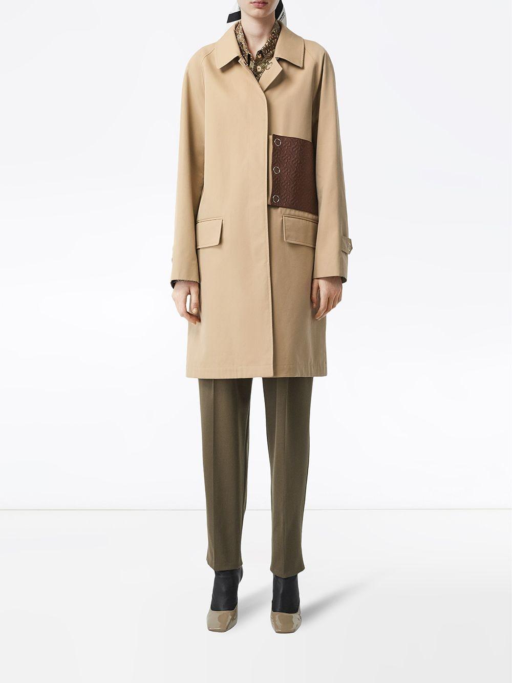 cream Bodmina trench coat in English-woven cotton gabardine BURBERRY |  | 8014410-BODMINA1366
