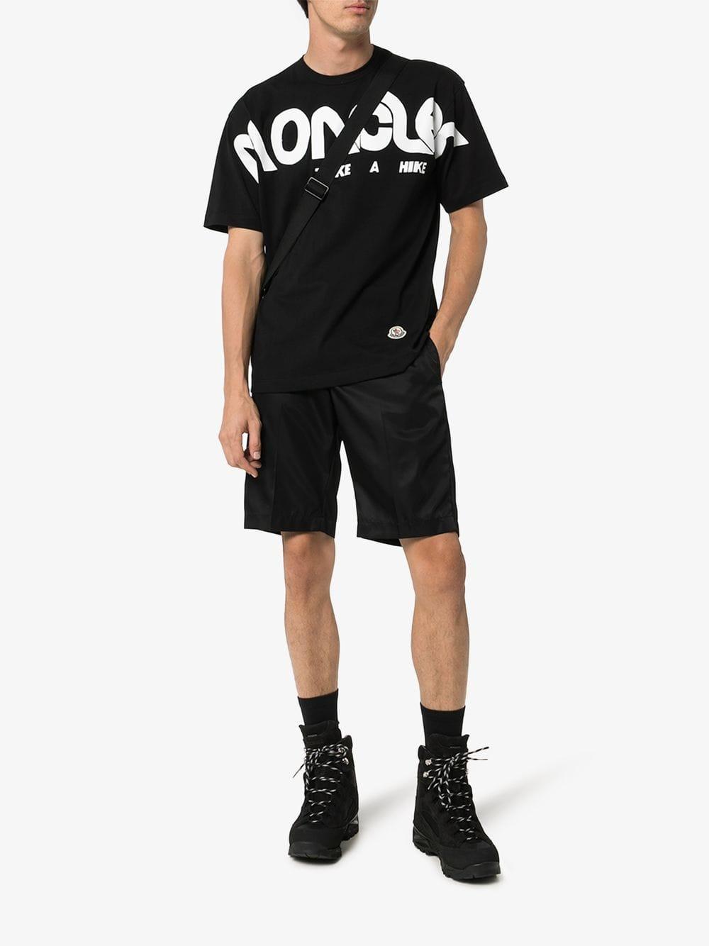 black Moncler Genius x Craig Green t.shirt MONCLER GENIUS |  | 80300-50-8390T999