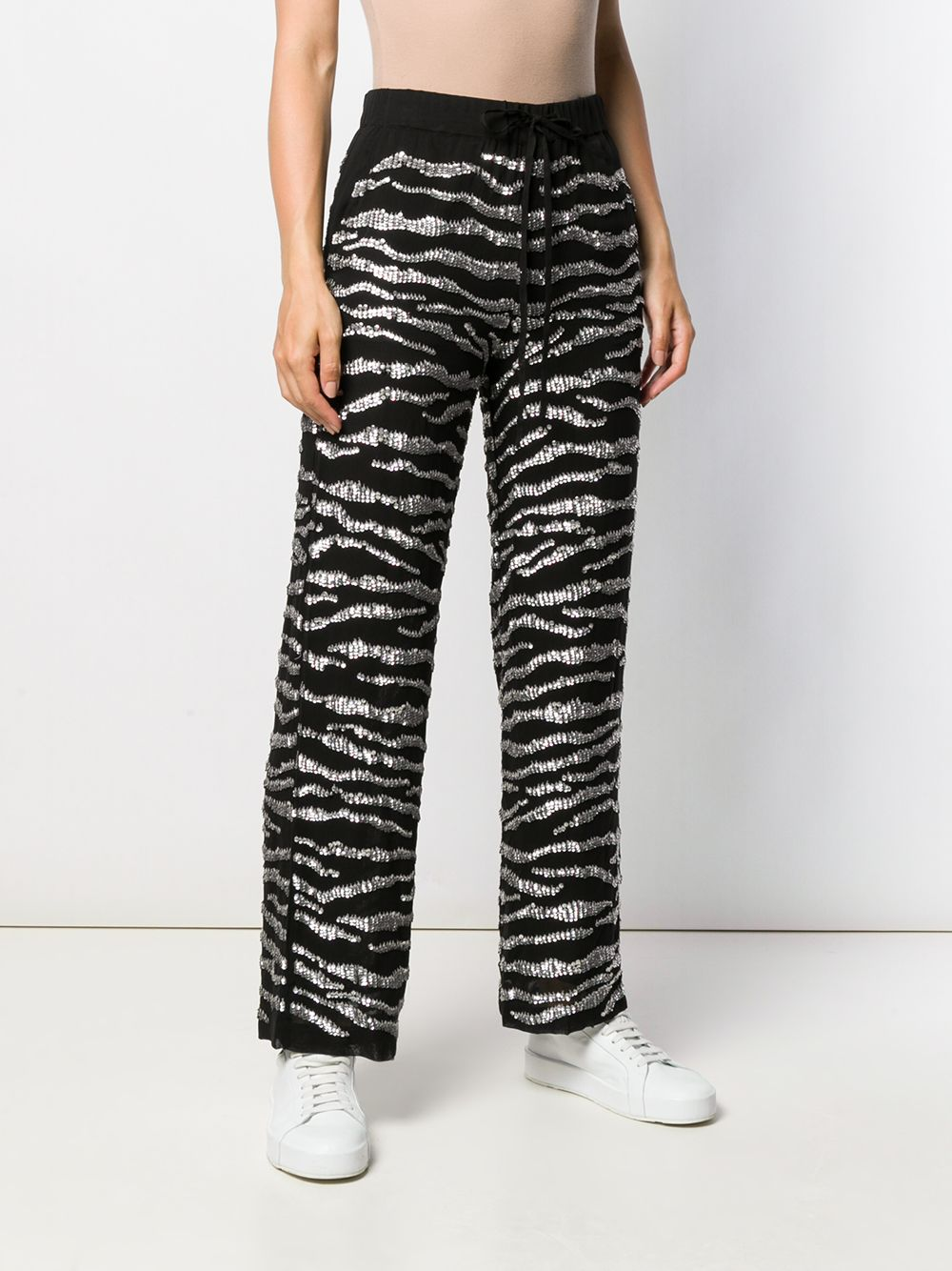 Black and white zebra print trousers  P.A.R.O.S.H. |  | D230565-GEBRA857