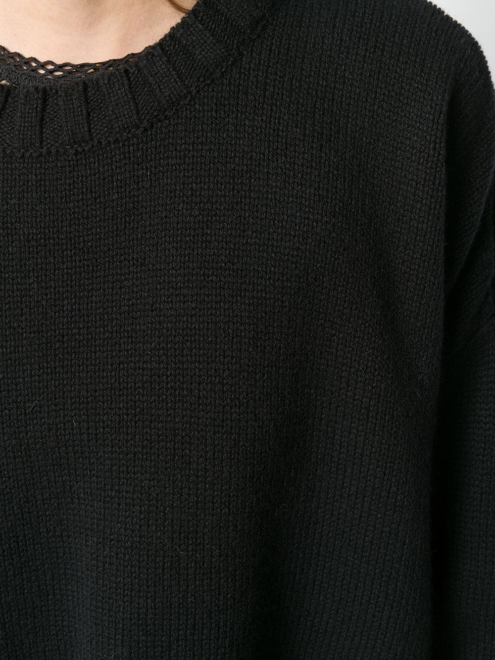 Black cashmere and wool blend jumper  P.A.R.O.S.H. |  | D510210-LINKED013