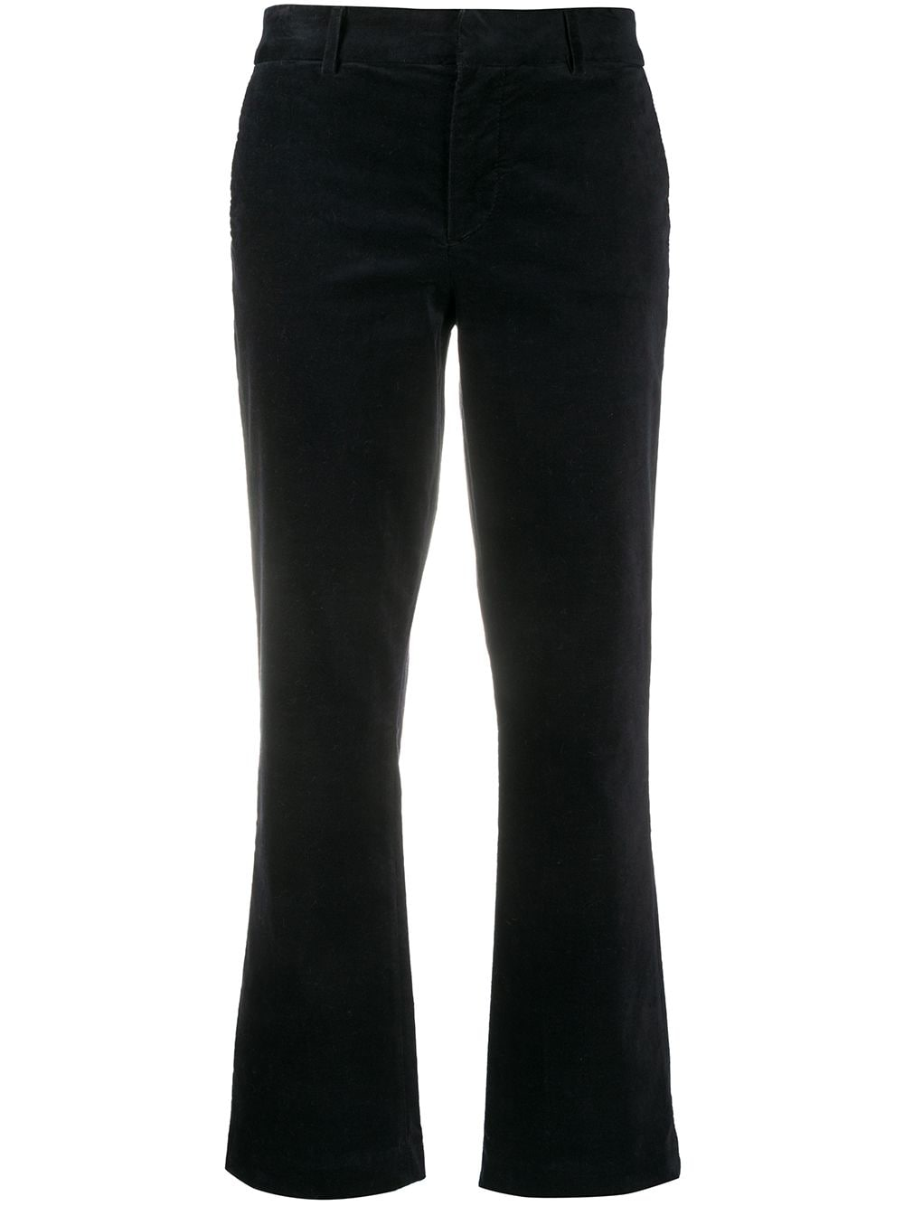 Black stretch-cotton cropped leg trousers  7 FOR ALL MANKIND |  | JSYZX330BL-CROPPED BOOT CHINIDARK BLUE