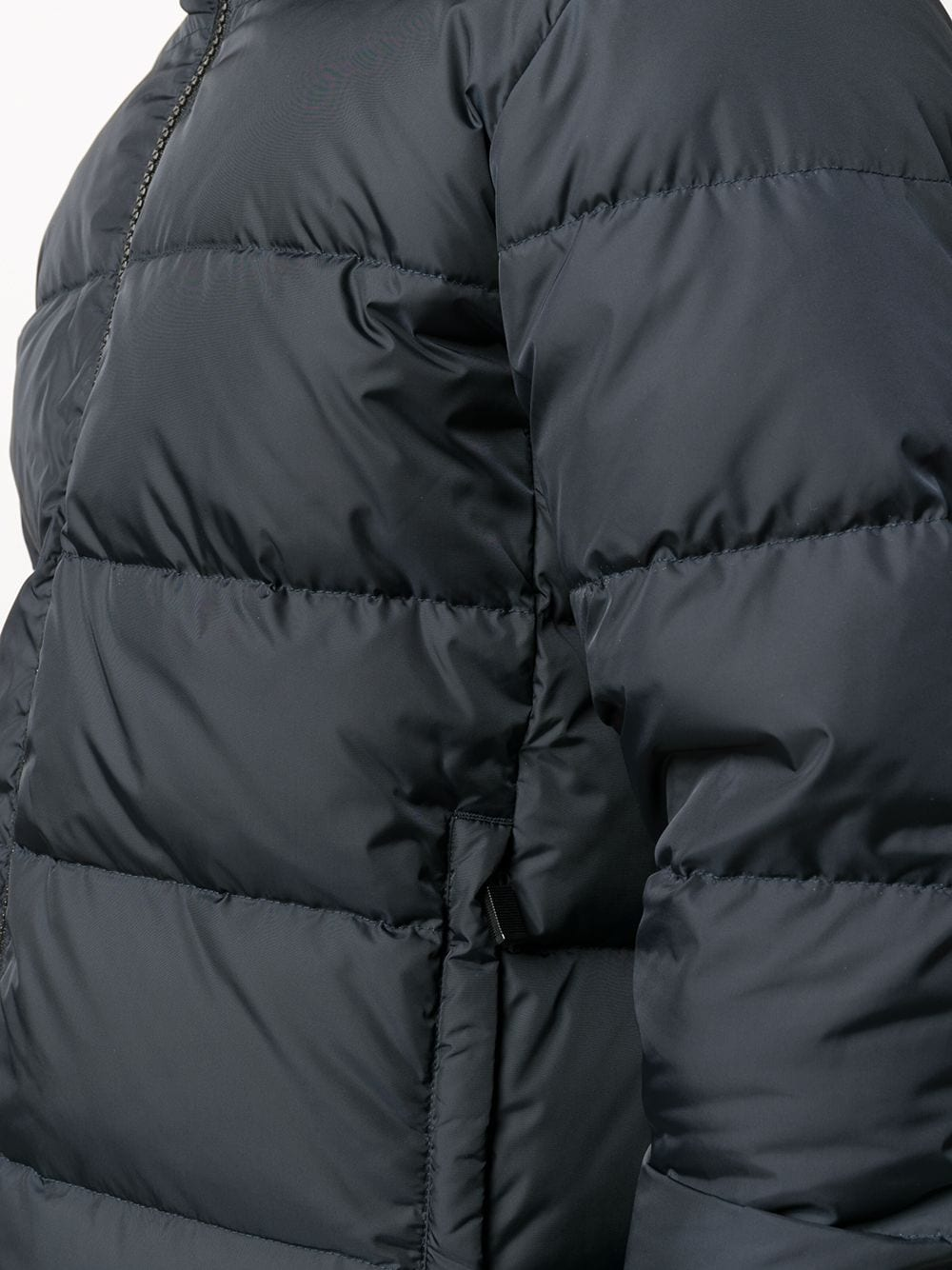 Midnight blue shell short puffer jacket  ALBERTO ASPESI |  | I018-795485101