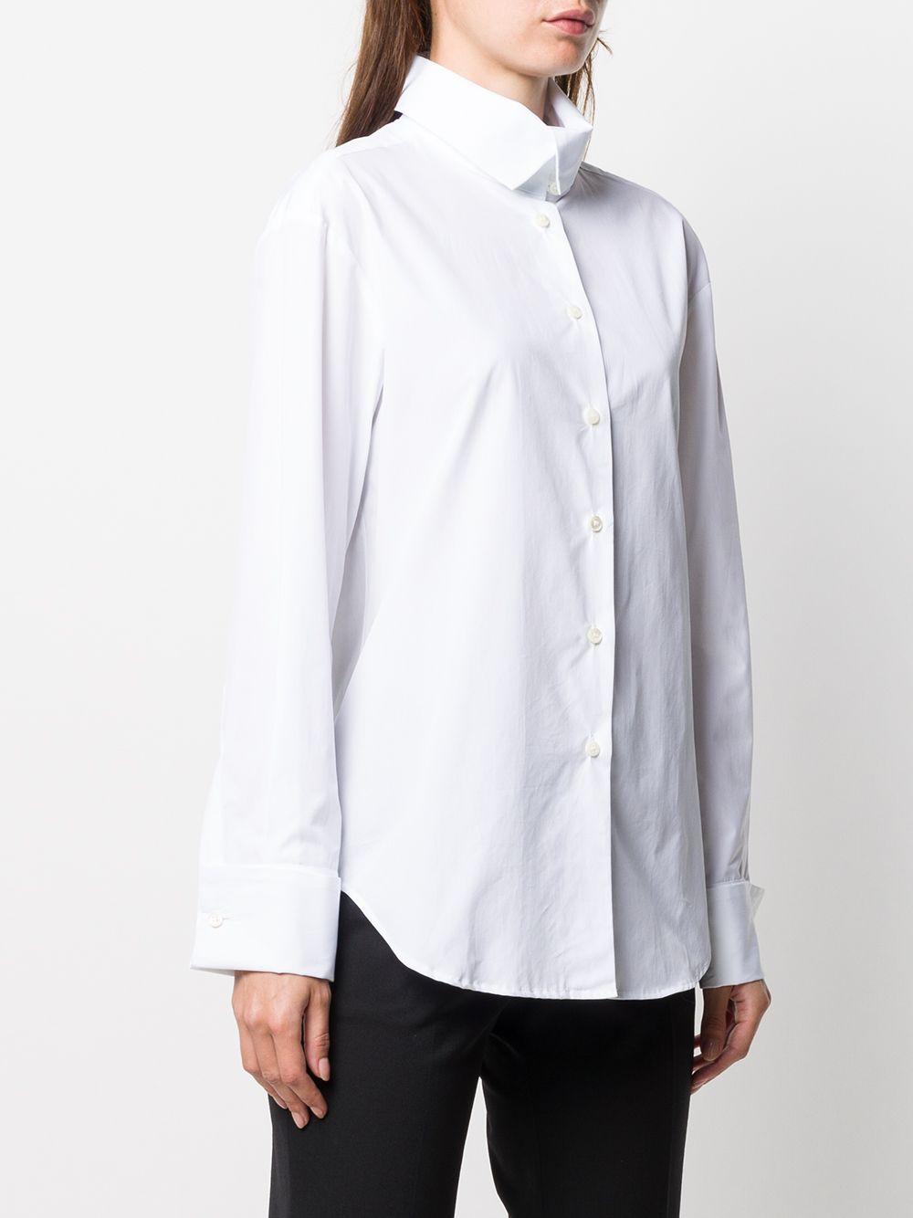 White cotton classic button-up shirt ALBERTO BIANI |  | MM839-CO013510