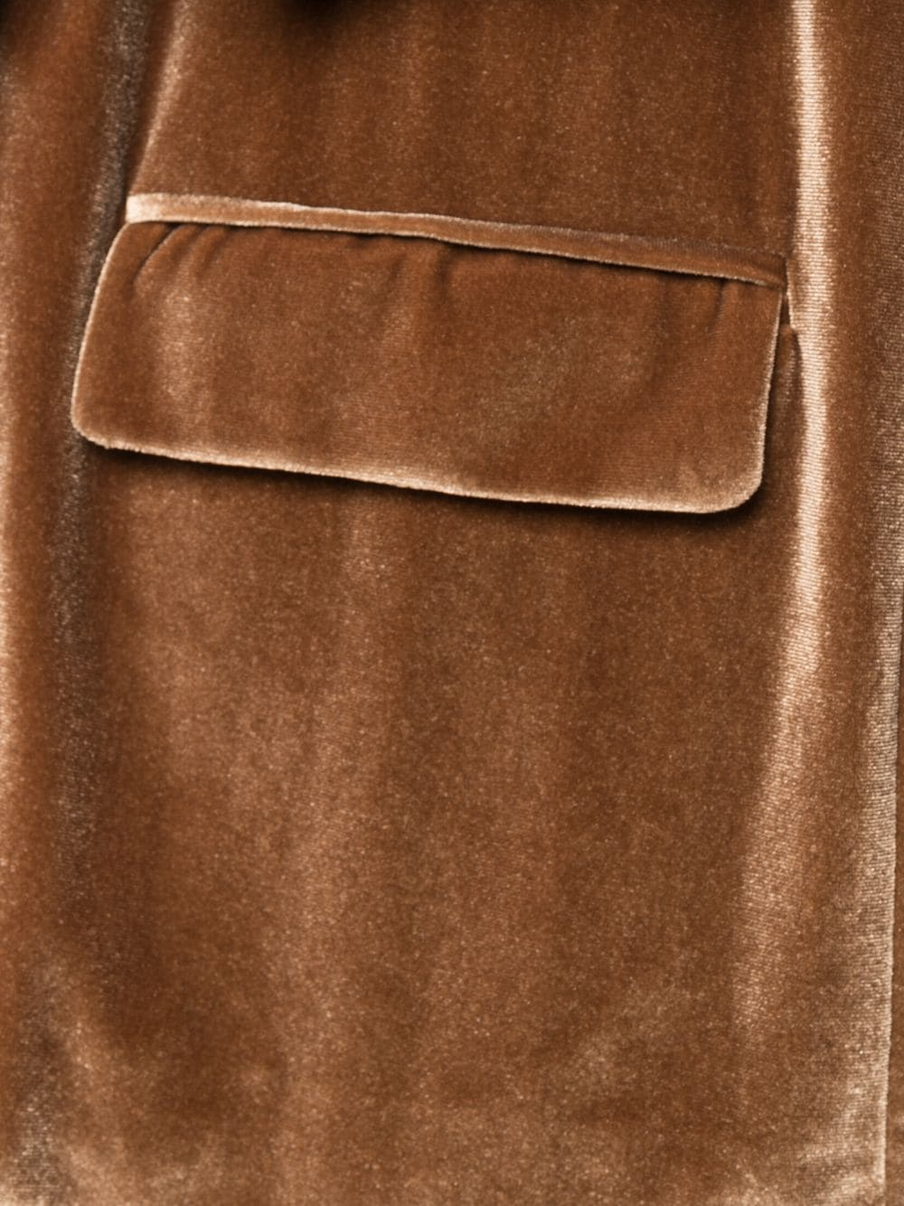 Giacca in velluto marrone chiaro con rever a dente ALTEA | Giacche | 206250734