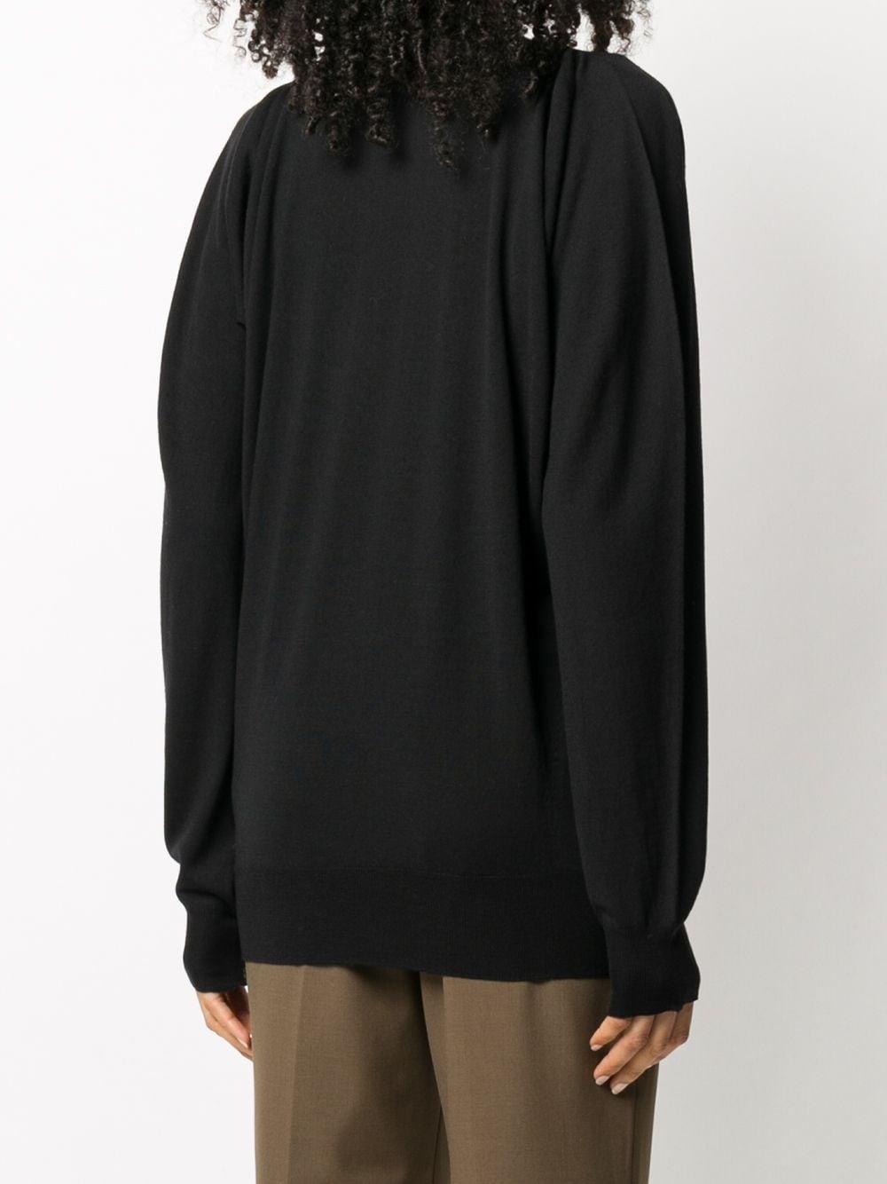 black merino wool oversize knitwear BOTTEGA VENETA |  | 633132-VKWI01000