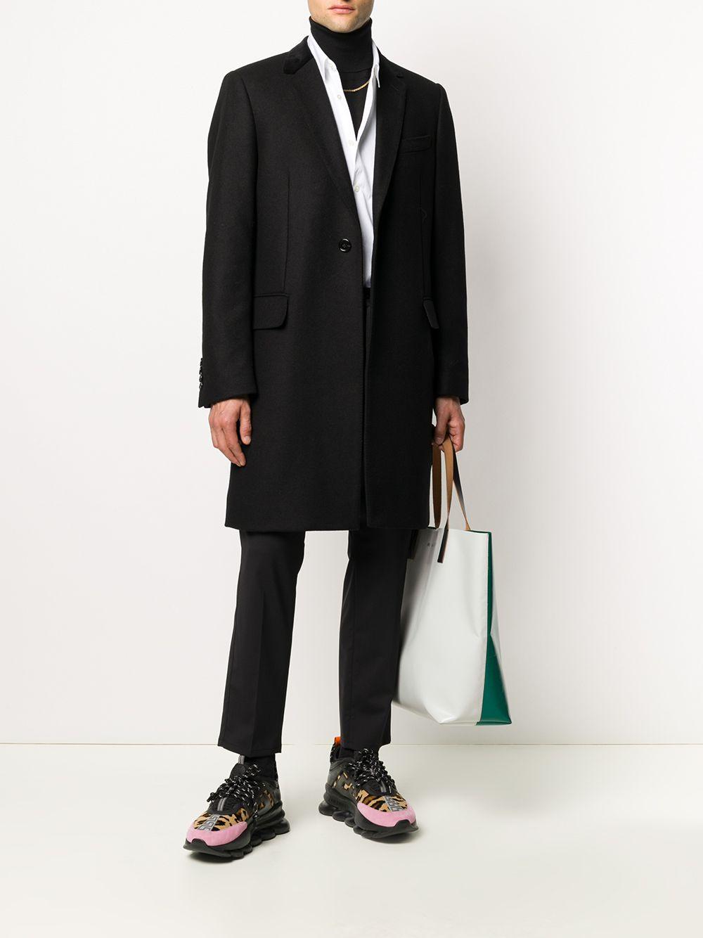 pantalone sartoriale in lana vergine nera DOLCE & GABBANA | Pantaloni | GW08AT-FUBECN0000